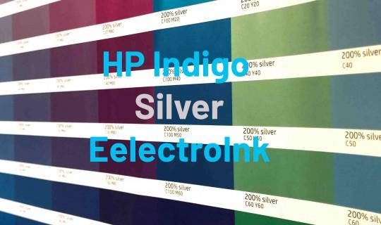 Metallicfarben für den Digitaldruck